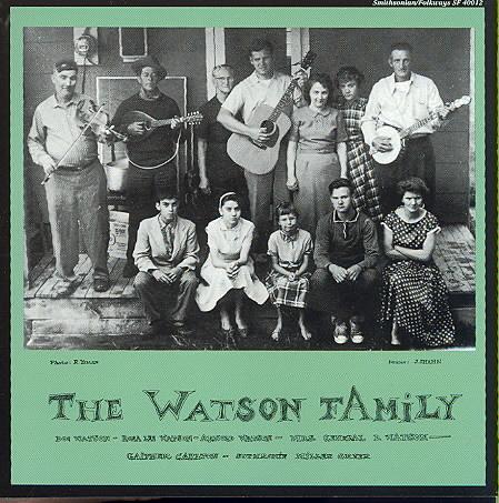 DOC WATSON FAMILY BY WATSON,DOC (CD)