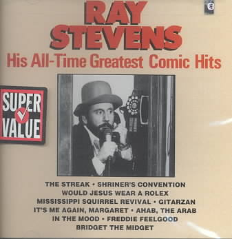 ALL TIME GREATEST COMIC HITS BY STEVENS,RAY (CD)